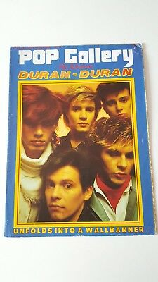 Duran Duran UK Magazine - Pop Gallery No3 - Fold Out Wallbanner