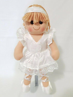 Tamarr Rag Doll - Zoe - Ballerina [38cm] Soft Plush Toy Ragdoll NEW