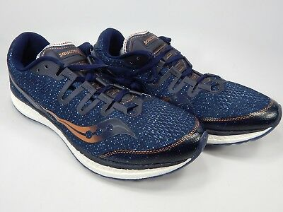 a6fa834d8e742 SAUCONY FREEDOM ISO Size US 11.5 M (D) EU 46 Men's Running Shoes Blue  S20355-30