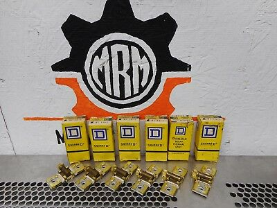 Square D B1.16 Overload Relay Heater Elements New Old Stock (Lot of 6)