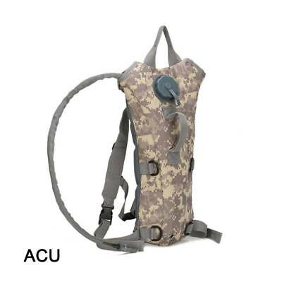 3L Water Bladder Bag Military Camping Hiking  Hydration Backpack Camelbak Pack