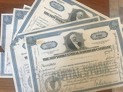 Mixed Lot Set of 28 stock certificates all with some sort of damage to them