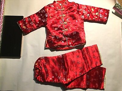 new girls traditional asian embroider jacket whit pant (c-2)