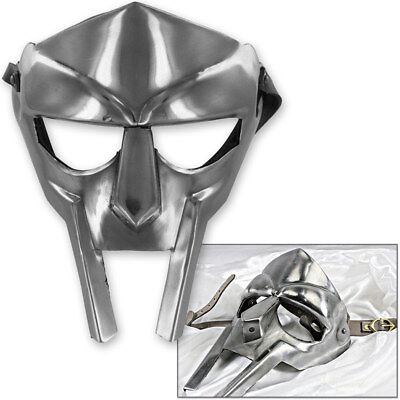MF Doom Gladiator Mask Madvillain 18g Mild Steel Face Armor Replica