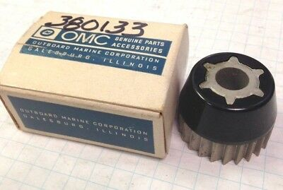 Part 380133 New Johnson Evinrude OMC Cone and Ratchet Wheel