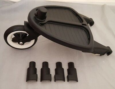 Bugaboo cameleon 1 / 2 and 3 / frog wheeled board / Buggy board + adapters #