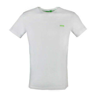 f1ad9ea9 HUGO BOSS GREEN Men's t-shirt TEE 50245195 White M - $44.99 | PicClick