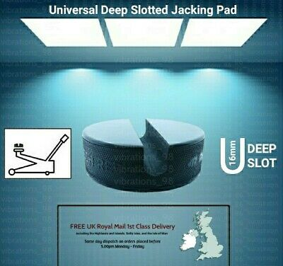 Universal Large Slotted Jack Pad Frame Rail Pinch Weld Protector BIG WINTER SALE