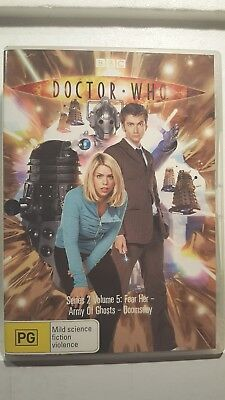 Doctor Who : Series 2 : Vol 5 [ DVD ] Region 4, FREE Next Day Post from NSW
