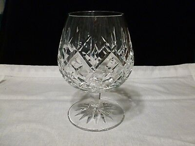 "Waterford Crystal Lismore 5 1/8"" Brandy Snifter Made In Republic Of Ireland"
