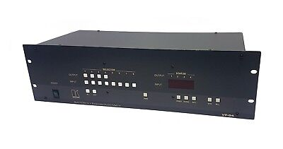 Kramer VP-84 8x4 RGBHV Video and Balanced Audio Matrix Switcher