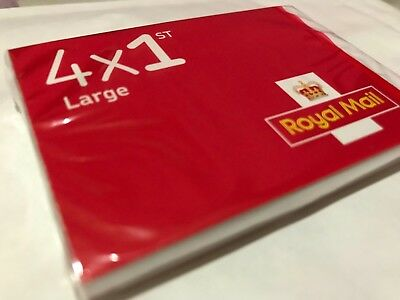 100 X 1st Class Large Postage Stamps 2017 Dated Sealed