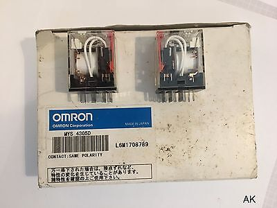 2x Relais Omron / MY4IN220240ACS / MYS 4305D
