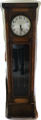 Grandfather Clock with Pendulum and Westminster Chime