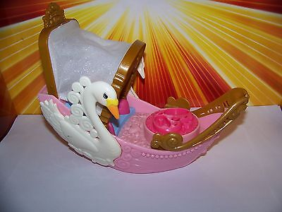 Imaginext Precious Places Swan Boat Tunnel of Love Retired Princess Girls Toy