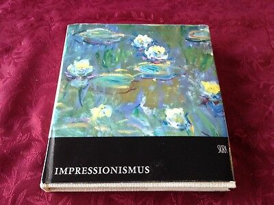 Impressionism 1955 Hardcover Art Book by Skira in German. Impressionismus