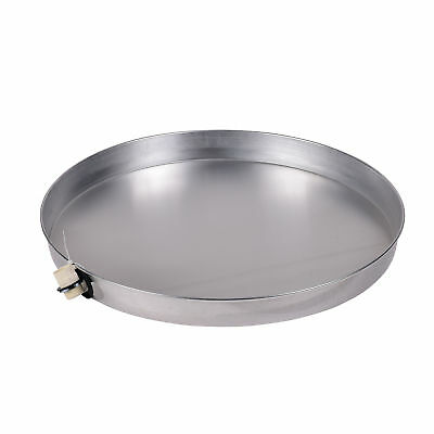 Oatey 34173 24 inch Aluminum Water Heater Pan with 1 inch CPVC Fitting