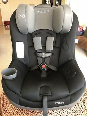 Maxi Cosi Pria 70 Convertible Car Seat Child Safety W Air Protect Total Black