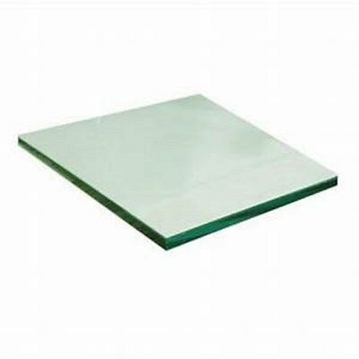 """10"""" x10"""" Clear Tempered Safety glass Tiles 3MM thick. Soft Rounded Edges"""