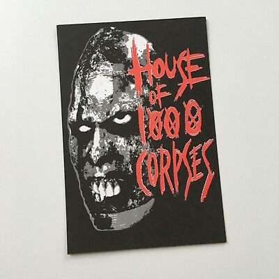 House Of 1000 Corpses Postcard **RARE