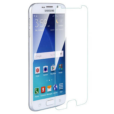 2x Tempered Glass 9H Film Screen Protector Cover For Samsung Galaxy J 3 5 7 2017