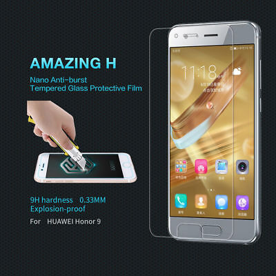 1/2x Premium Tempered Glass Screen Protector Cover Film For Huawei Honor 8 Lite