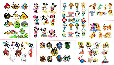 mickey harry potter winnie the pooh Spongebob party candy bag seal stickers