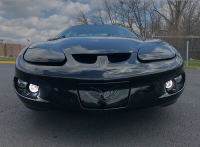 White Fog Lamp Angel Eye Driving Halo Lights 1998-2002 Pontiac Firebird Trans Am
