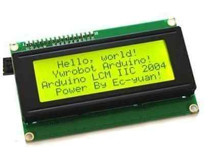 5 PCS New 2004 20X4 5V Character LCD Display Module Yellow Backlight