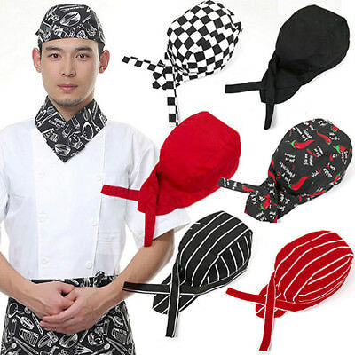 Pro Pirates Chef Tableware Skull Kitchen Cap Catering Various Chef Hat Flowery