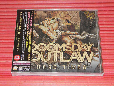 2018 Doomsday Outlaw Hard Times With Bonus Track  Japan Cd