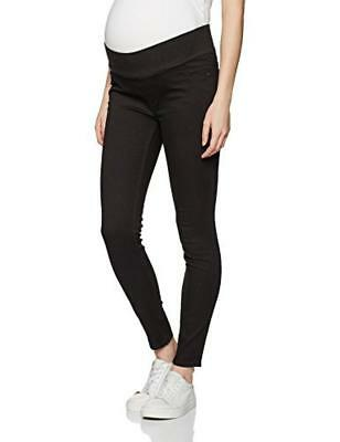 (TG. 40) New Look Maternity 3927883, Leggings Prémaman Donna, Nero, 40 - NUOVO