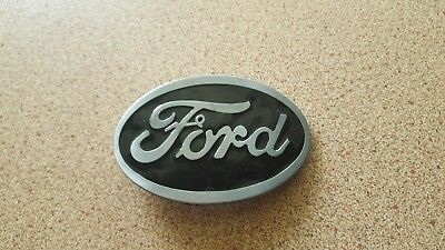 Ford Belt Buckle  Ford Grey new in packet ..very nice !!    Free AU Post