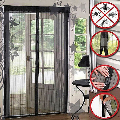 New Magic Mesh Hands-Free Screen Door magnets AS SEEN ON TV No Box Anti-bug Fly