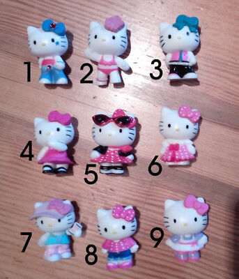 Set 9 Hello Kitty Figuren  sanrio japan sammelfiguren fashion