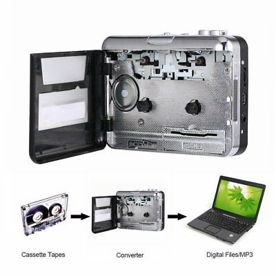 USB 2.0 Portable Tape  Cassette To MP3  CD Digital Player  Audio Music