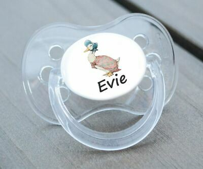 Personalised Dummy Pacifier Soother, All Teats,sizes & Colours, Puddle 2