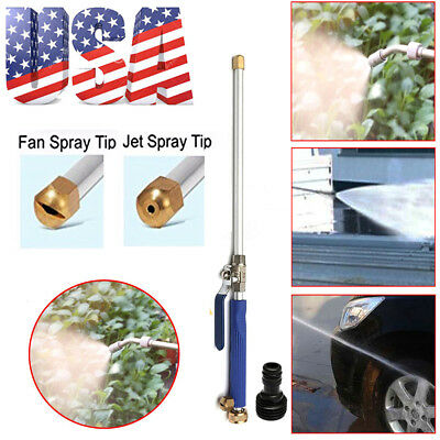 High Pressure Power Washer Spray Nozzle New! Water Hose Wand Attachment US NEW