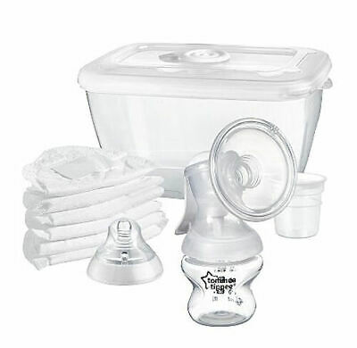 Tommee Tippee Manual Breast Pump RRP 30.00 lot GD 5010415234155