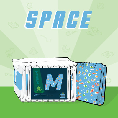 ABUniverse ABU Space Diapers ABDL - Pack of 10