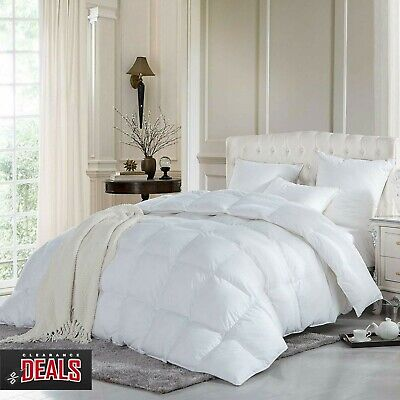 Luxury Goose Duck Feather & Down Duvet Quilt 13.5 Tog - All Sizes