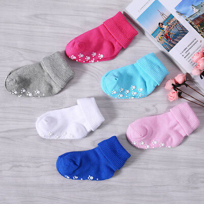 Anti-slip Children Baby Toddler Socks Cartoon Socks Girls Boys Socks