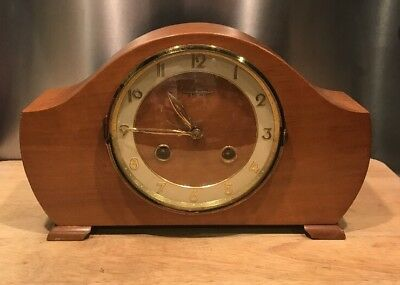 Bentima 8-Day Mantle Clock - Needs Attention