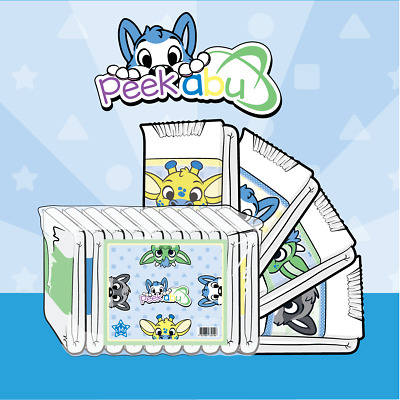 ABUniverse ABU PeekABU Diapers ABDL - Pack of 10