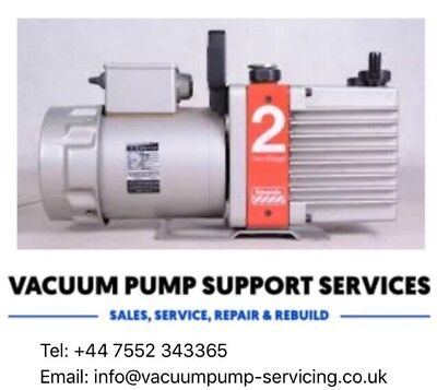 Vacuum Pump-Edwards E2M2-TESTED-SERVICED-WARRANTY-FREE P&P...call now...£350