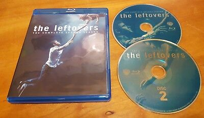 The Leftovers: Complete Second Season (Blu-Ray, 2-Disc Set) 2 HBO tv show series