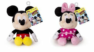 Disney Junior Mickey Mouse, Minnie Mouse Soft Plush With Sound