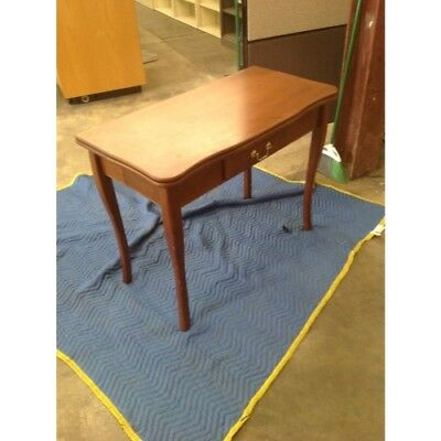 """40"""" x 40"""" x 30"""" Wooden Antique Wooden Fold-Open Leaf Table"""
