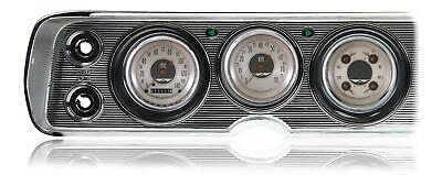 1964-65  Chevelle Classic Instruments Direct Fit Gauges American Nickel CV64AN