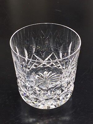 """Waterford Crystal Lismore 9 oz Old Fashioned Whiskey Tumbler 3 1/4"""" Tall"""